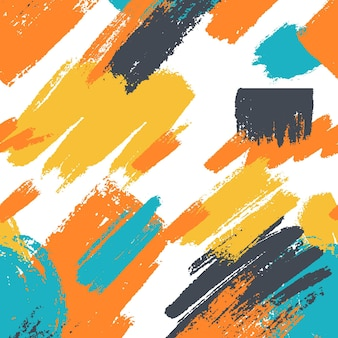 Ручная роспись абстрактной картины картины