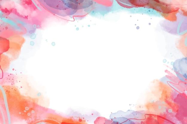 水彩で手描きの抽象的な壁紙