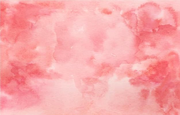 背景として手描きの抽象的な水彩画