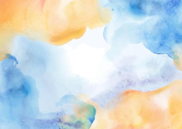 手描きの抽象的な水彩画の背景