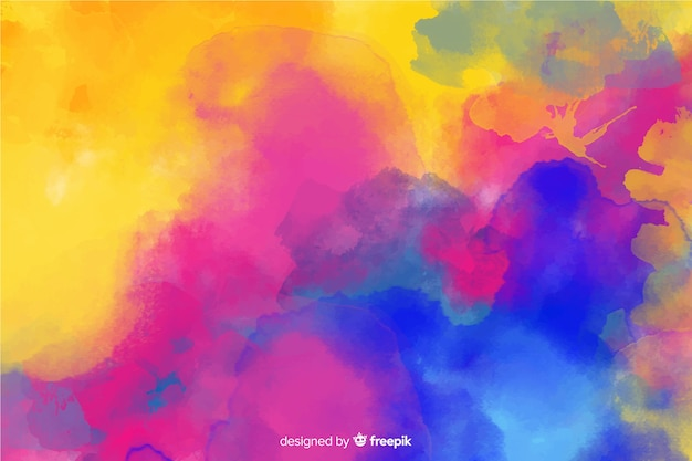Hand painted background in abstract design