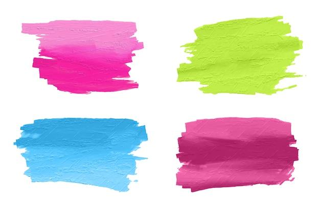 Collezione dipinte a mano pennellate