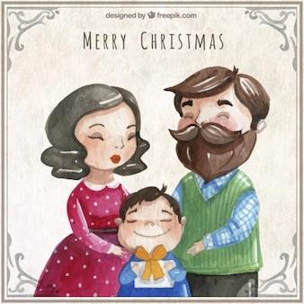 자유형 크리스마스 가족