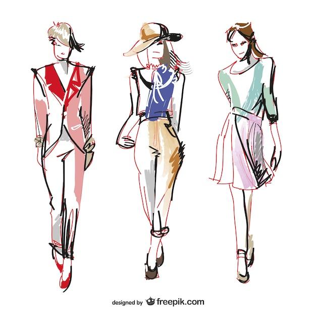 fashion vectors photos and psd files free download rh freepik com fashion vector art fashion vector art