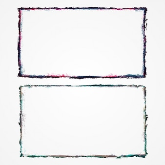 Hand painted frames set