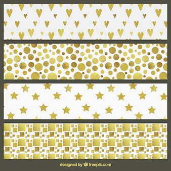 手描きの黄金パターン