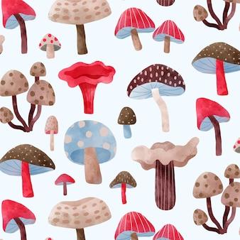 Ручная роспись грибов