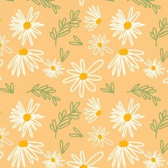 Ручная роспись красивый цветочный узор
