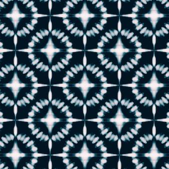 Hand painted shibori pattern