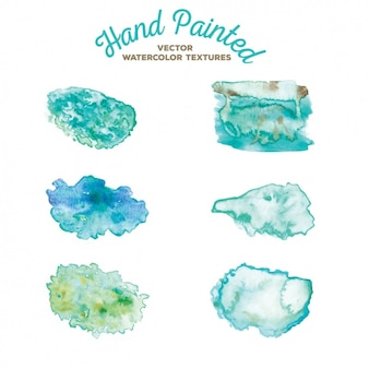 Hand painted stains collection