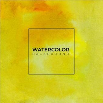 Ручная роспись акварель абстрактный оранжевый и желтый фон