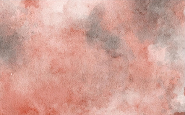 Hand painted watercolor abstract pink background