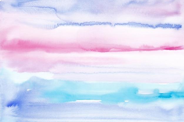 手描きの水彩画の背景