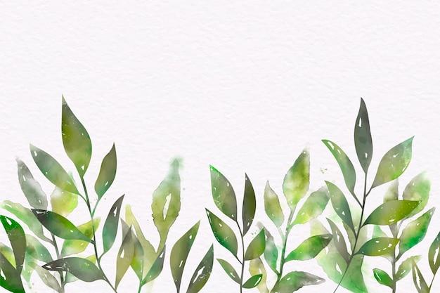 Ручная роспись акварель природа фон
