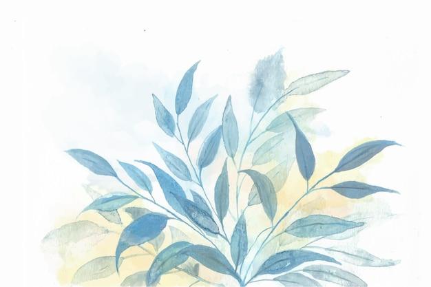 Priorità bassa della natura dell'acquerello dipinto a mano