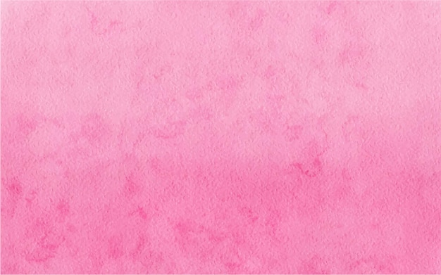 손으로 그린 수채화 핑크 추상적인 배경