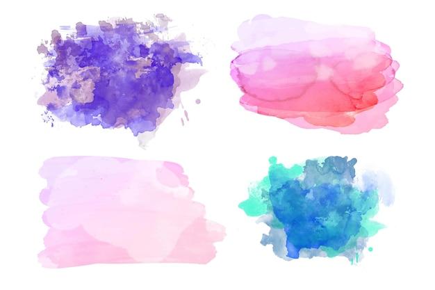 手描き水彩ステインコレクション