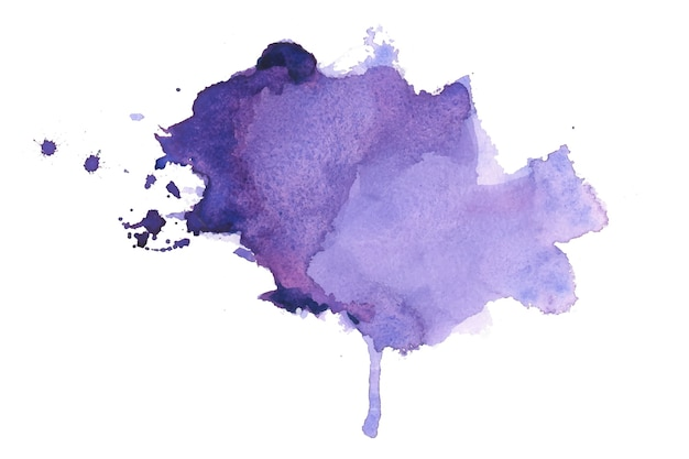 Hand painted watercolor stain texture background