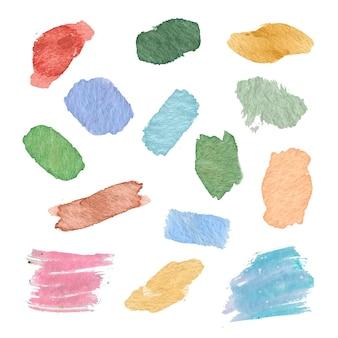 Macchie di acquerello dipinto a mano