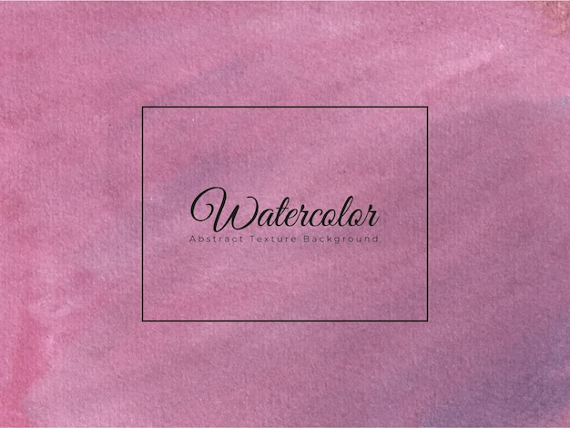 Hand painted watercolor texture background