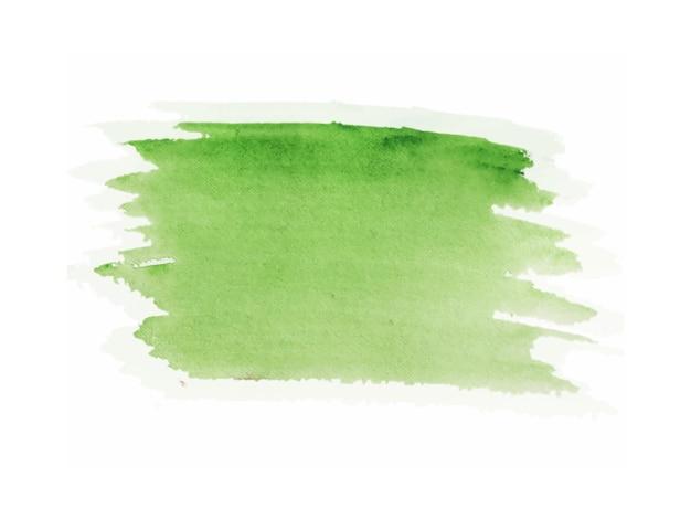 明るい緑色の手描きの水彩テクスチャ