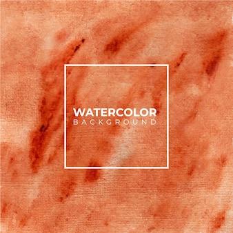 Ручная роспись акварель текстуры коричневого цвета на фоне.