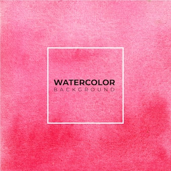 Hand painted watercolor texture of pink background
