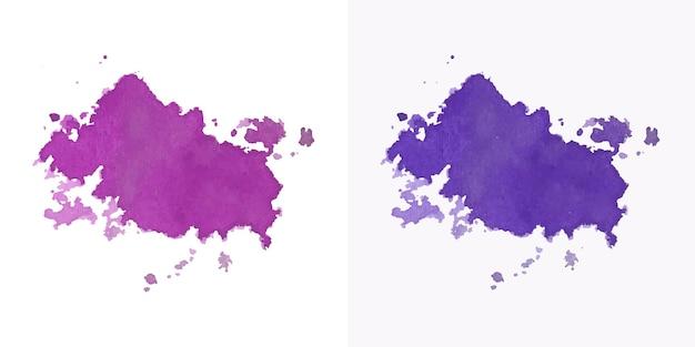 Рука художника цвета акварель пятно текстуры