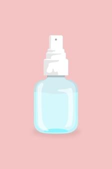 抗コロナウイルス要素への手指消毒剤ボトル