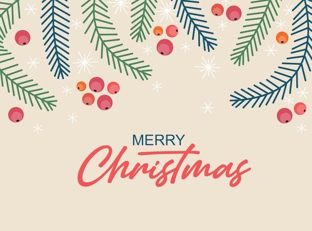Hand sketched merry christmas card, badge, icon typography. lettering merry christmas for christmas, new year greeting card, invitation template, banner, poster. vector eps10