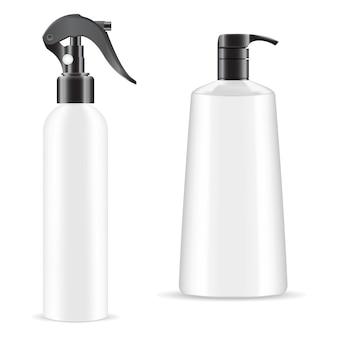 Бутылка с распылителем для рук