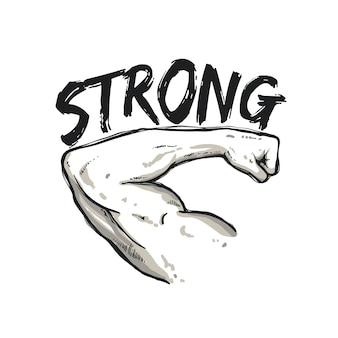 Hand strong sketch