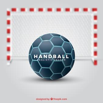 현실적인 스타일의 핸드볼 공