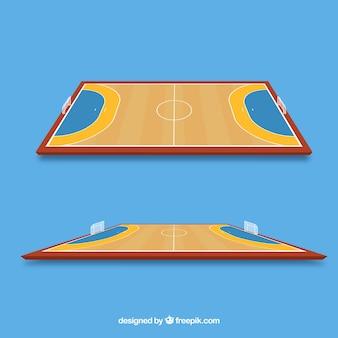 Handball field design
