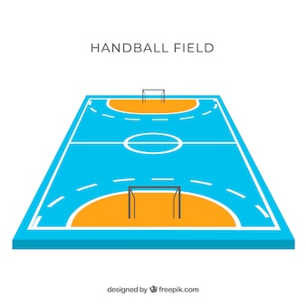 Handball field design