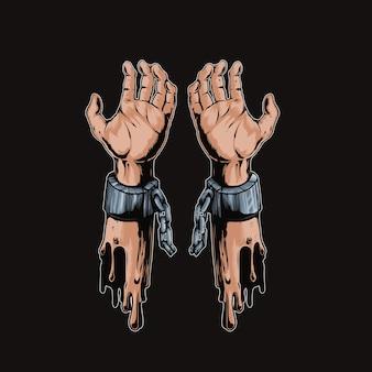 Handcuffs illustration