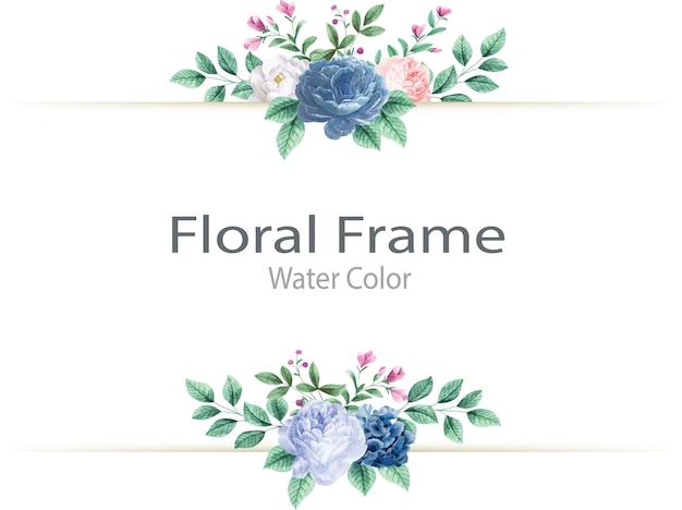 Красивые handdrawn цветочные свадебные приглашения