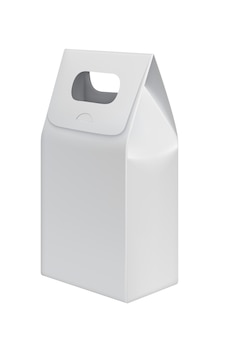 Handle paper bag for products or food