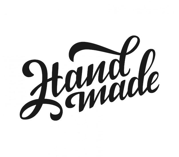 Handmade calligraphic logo.