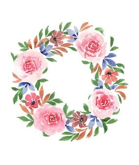 Акварель, цветочное искусство ручной работы