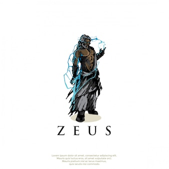 Логотип греческого бога зевса