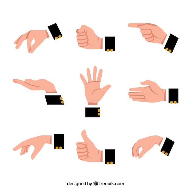 hands vectors photos and psd files free download rh freepik com hand vectors showing 4 fingers hand vector free clip art