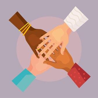 Hands crossed cultural