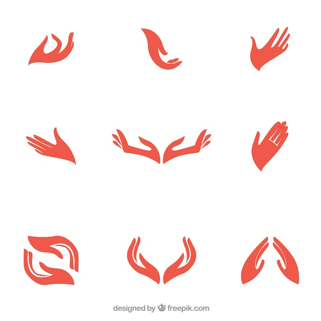hands vectors photos and psd files free download rh freepik com hand vector graphics hand vectors showing 4 fingers