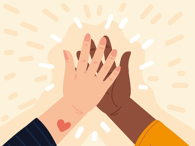 Руки мужчины женщины трогательно