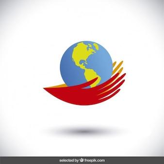 Руки защитить мир