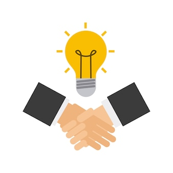 Handshake business done deal