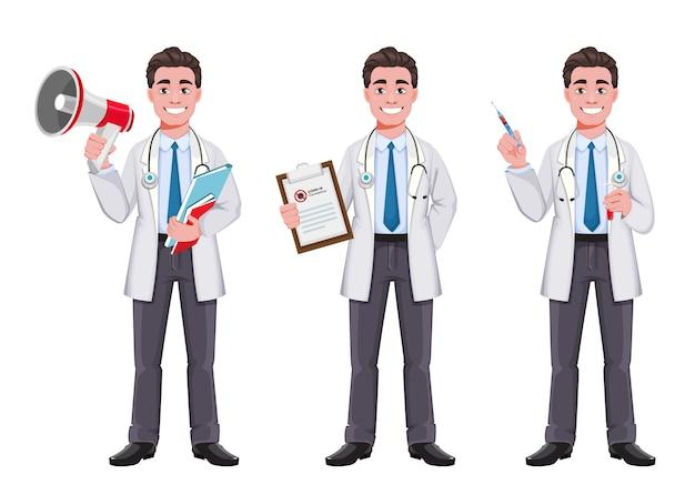 ハンサムな男性医師