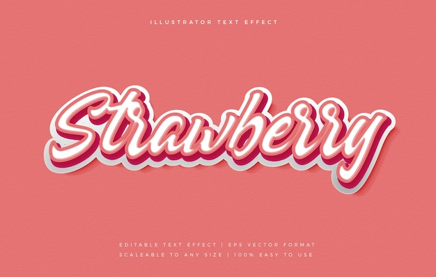 Handwriting playful text style font effect