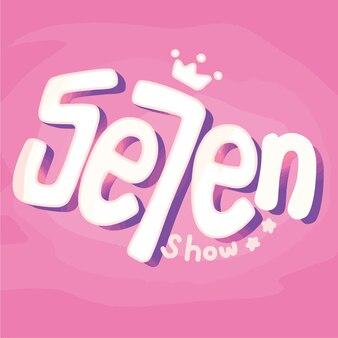 Handwritten seven show